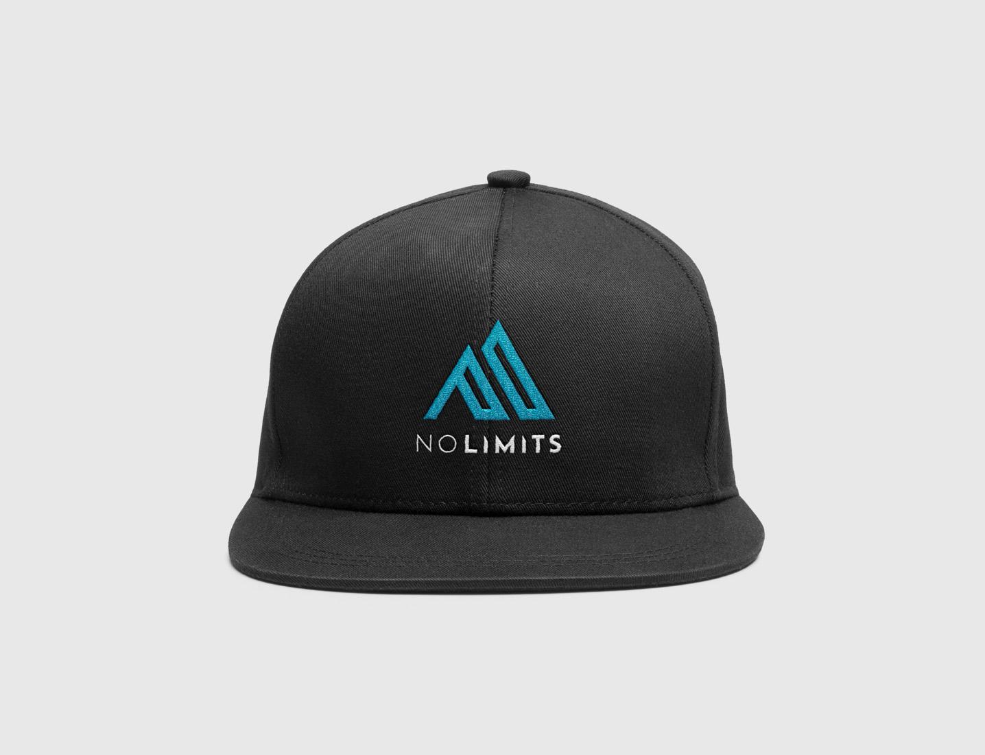 No Limits Trucker Hat Design