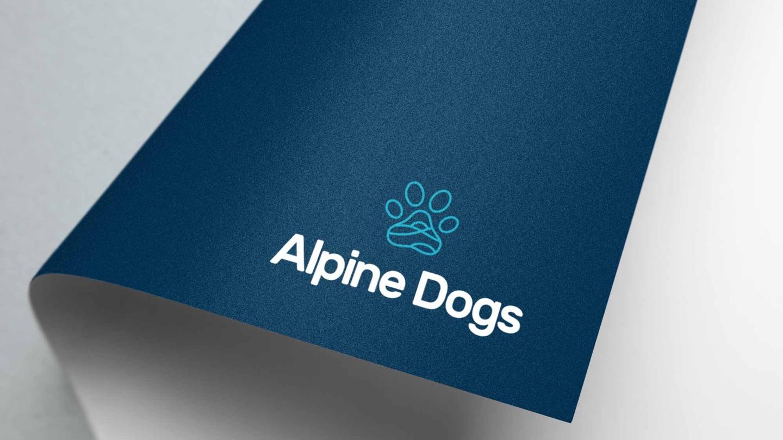 Alpine Dogs Logo Design
