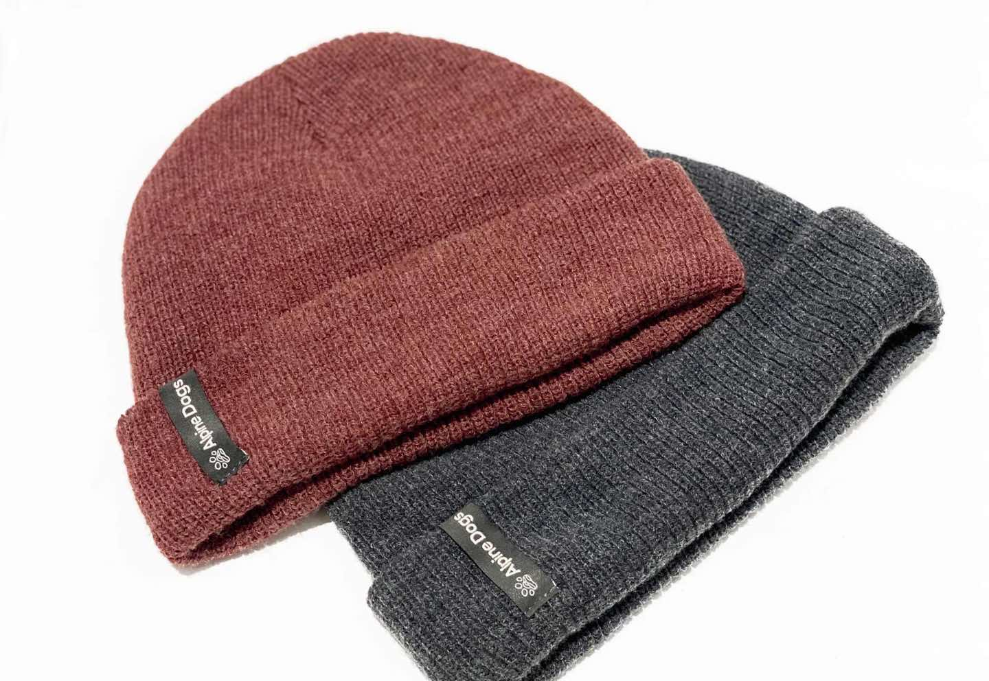 Alpine Dogs branded toques