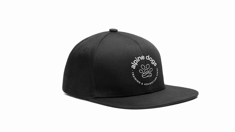 Alpine Dogs branded trucker hat