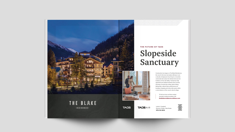 Blake Residences magazine spread
