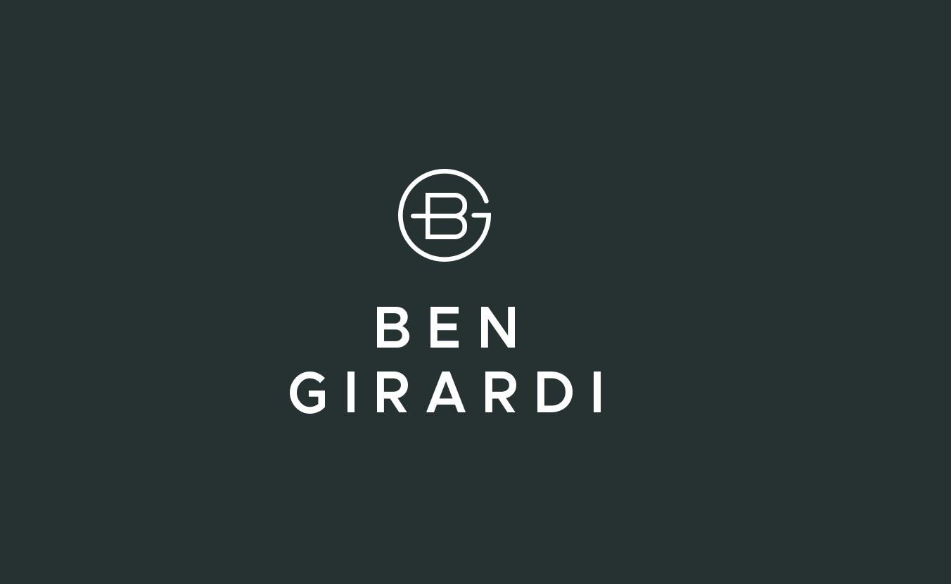 Ben Girardi Stacked Logo Lockup