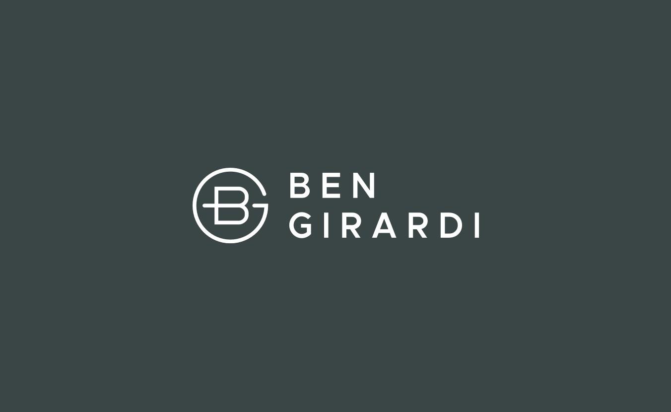 Ben Girardi Logo Lockup